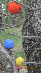 A color ball tree