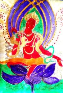 Divine Tara by Cristiananda