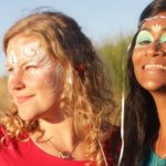 ruby-and-shamani-with-facepaint